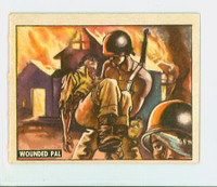 1950 Freedom's War 138 Wounded Pal Excellent