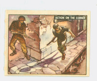 1950 Freedom's War 143 Action On The Corner Excellent to Mint