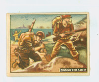 1950 Freedom's War 162 Digging For Safety Very Good to Excellent