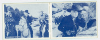 1950 Hopalong Cassidy Pair: 23 What's Ahead / 20 Two-Gun Man Excellent to Mint