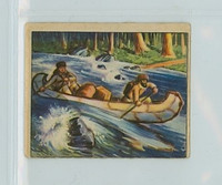1950 Wild West A-7 Shooting the Rapids Very Good