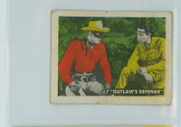 1950s Ed-U-Card Lone Ranger 10 Will There Be Trouble Very Good