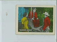 1950s Ed-U-Card Lone Ranger 59 Advice from the Lone Ranger Fair to Poor