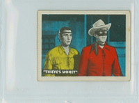 1950s Ed-U-Card Lone Ranger 106 Murder Reported Very Good