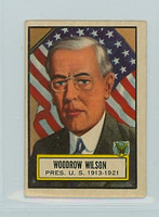 1952 Look N See 2 Woodrow Wilson Good to Very Good