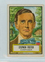 1952 Look N See 28 Stephen Foster Excellent to Mint