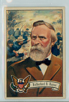 1952 U.S. Presidents 22 Rutherford B. Hayes Excellent