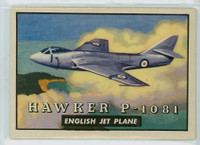 1952 Wings 115 Hawker P-1081 Excellent to Mint