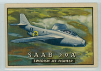 1952 Wings 121 SAAB 29A Excellent to Excellent Plus