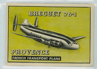 1952 Wings 183 Breguet 76-1 Very Good to Excellent
