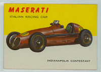 1954 World On Wheels 11 Masterati Racing Car Excellent