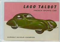 1954 World On Wheels 22 Lago Talbot Excellent to Mint
