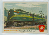 1955 Rails and Sails 3 Pennsylvania Railroad Good to Very Good