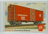 1955 Rails and Sails 20 Steel Box Car Excellent to Mint