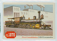 1955 Rails and Sails 33 First Consolidation 2-8-0 Near-Mint