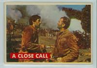 1956 Davy Crockett Green 22 A Close Call Very Good to Excellent