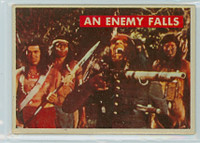 1956 Davy Crockett Green 28 An Enemy Falls Very Good to Excellent