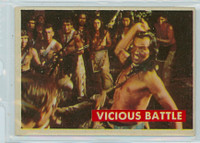 1956 Davy Crockett Green 29 Vicious Battle Very Good to Excellent