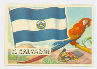 1956 Flags of the World 3 El Salvador Excellent to Mint