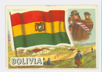 1956 Flags of the World 10 Bolivia Excellent