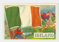 1956 Flags of the World 15 Ireland Near-Mint to Mint