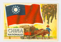 1956 Flags of the World 18 China Nationalist Near-Mint