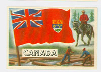 1956 Flags of the World 19 Canada Near-Mint