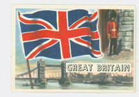 1956 Flags of the World 26 Great Britain Excellent to Mint