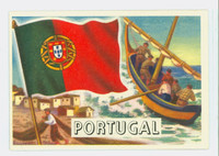 1956 Flags of the World 47 Portugal Excellent