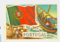 1956 Flags of the World 47 Portugal Excellent to Mint