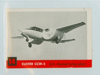 1956 Jets 14 Custer CCW-5 Excellent