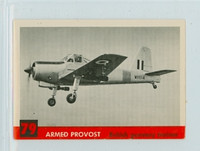 1956 Jets 79 Armed Provost Very Good to Excellent