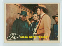 1958 Zorro 24 Diego Meets Zorro Excellent to Excellent Plus