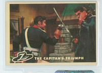 1958 Zorro 25 The Captain's Triumph Excellent to Mint