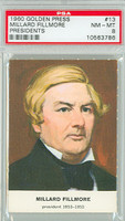 1960 Golden Press Presidents 13 Millard Fillmore PSA 8 Near Mint to Mint