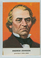 1960 Golden Press Presidents 17 Andrew Johnson Excellent