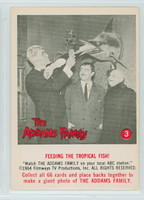 1964 Addams Family 3 Feeding The Tropical Fish Excellent to Mint