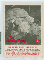 1964 Addams Family 4 Will The Real Granny Please Stand Up Very Good