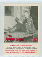 1964 Addams Family 23 I Can't Stand a Lumpy Mattress Excellent