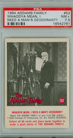 1964 Addams Family 52 I Need a Man's Deodorant PSA 7.5 Near Mint Plus
