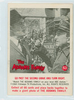 1964 Addams Family 63 Go Past The Second Grave and Turn Right Near-Mint Plus
