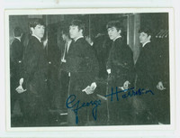 1964 Beatles Black|White 72 George Harrison Very Good to Excellent