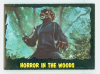 1964 Outer Limits O-Pee-Chee 13 Horror in the Woods Excellent to Mint