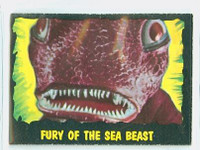 1964 Outer Limits O-Pee-Chee 20 Fury of the Sea Beast Excellent to Mint
