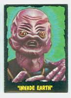 1964 Outer Limits O-Pee-Chee 24 Invade Earth Very Good to Excellent