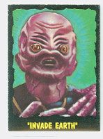 1964 Outer Limits O-Pee-Chee 24 Invade Earth Excellent