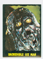 1964 Outer Limits O-Pee-Chee 33 Incredible Ice Man Excellent to Mint