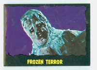 1964 Outer Limits O-Pee-Chee 34 Frozen Terror Excellent to Mint