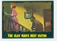 1964 Outer Limits O-Pee-Chee 47 Clay Man's Next Victim Excellent to Mint