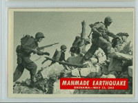 1965 War Bulletin 80 Manmade Earthquake Excellent to Mint